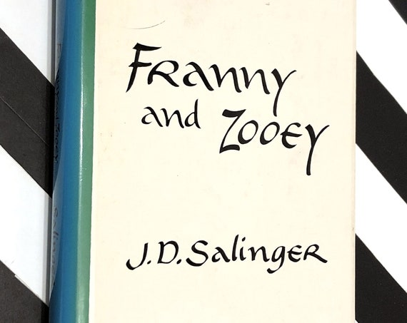 Franny and Zooey by J.D. Salinger (1961) hardcover book
