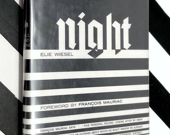 Night by Elie Wiesel (1960) hardcover book