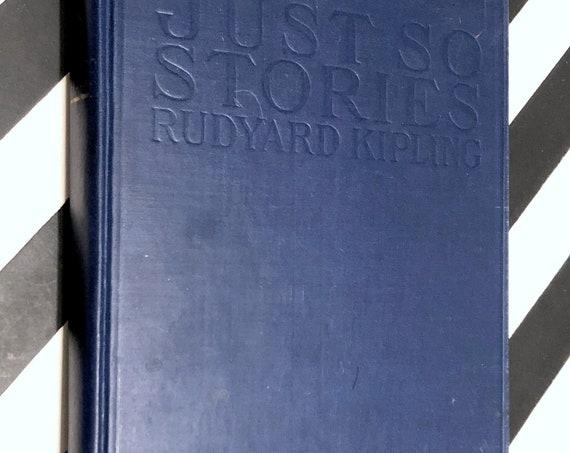Just So Stories by Rudyard Kipling (1946) hardcover book