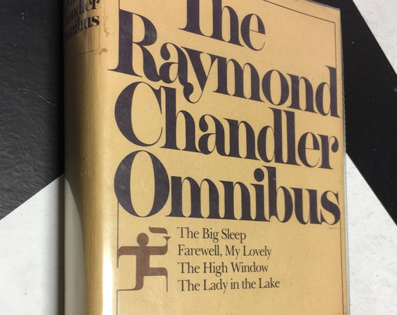 The Raymond Chandler Omnibus by Raymond Chandler (1980) hardcover book