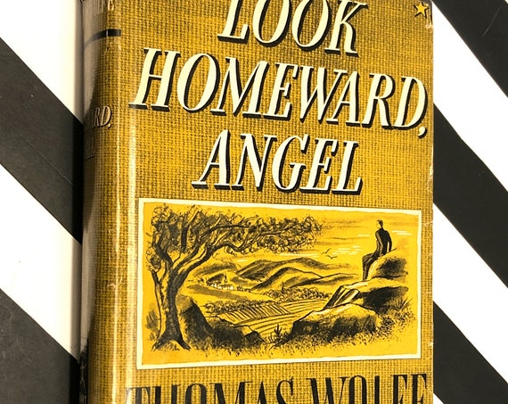 Look Homeward Angel by Thomas Wolfe (1929) Modern Library book