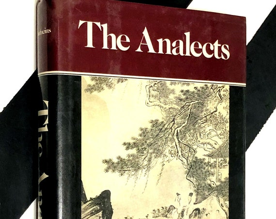 The Analects by Confucius (1986) hardcover book
