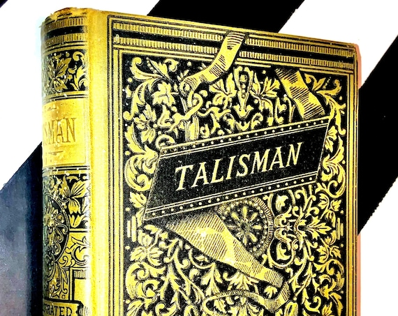 The Talisman and Chronicles of the Canongate by Sir Walter Scott, Bart. (no date) hardcover book