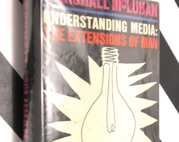 Understanding Media by Marshall McLuhan (1964) hardcover book