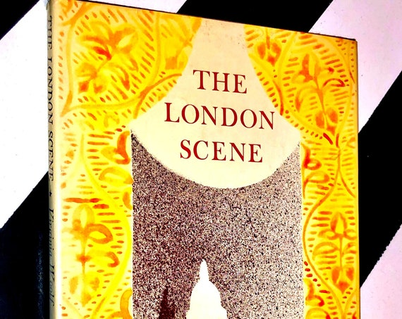 The London Scene: Five Essays by Virginia Woolf (1975) hardcover book