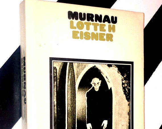 Murnau by Lotte H. Eisner (1973) softcover book