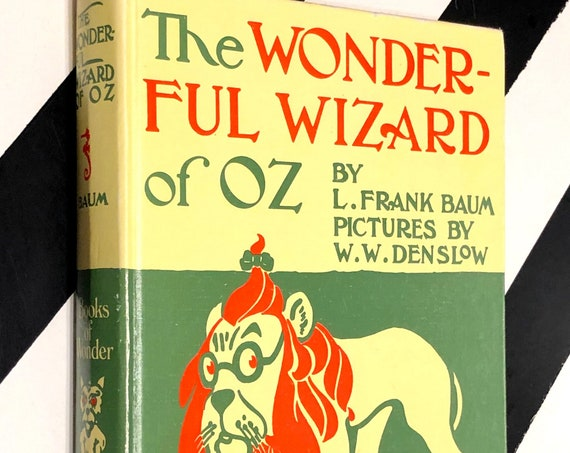 The Wonderful Wizard of Oz by L. Frank Baum (1987) hardcover book