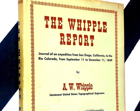 The Whipple Report by A. W. Whipple (1961) hardcover book
