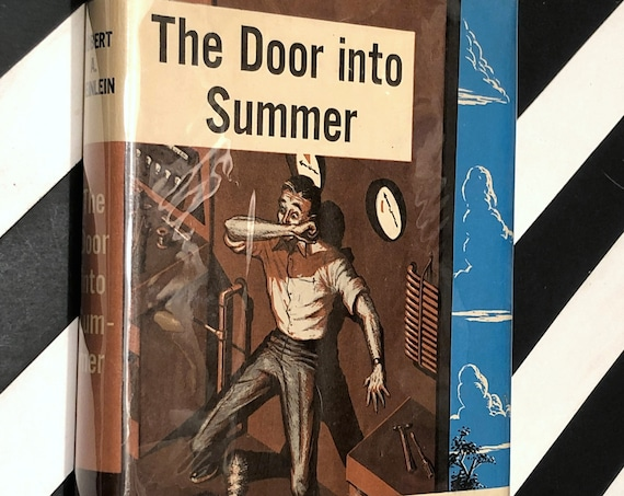 The Door into Summer by Robert Heinlein (1957) hardcover book