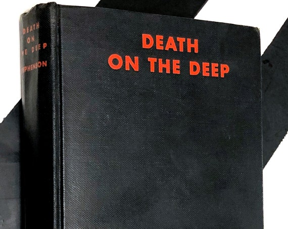 Death on the Deep by H. M. Stephenson (1930) hardcover book