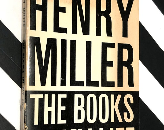 The Books in My Life by Henry Miller (1969) softcover book