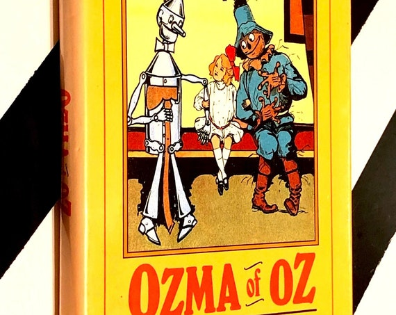 Ozma of Oz by L. Frank Baum (1989) hardcover book