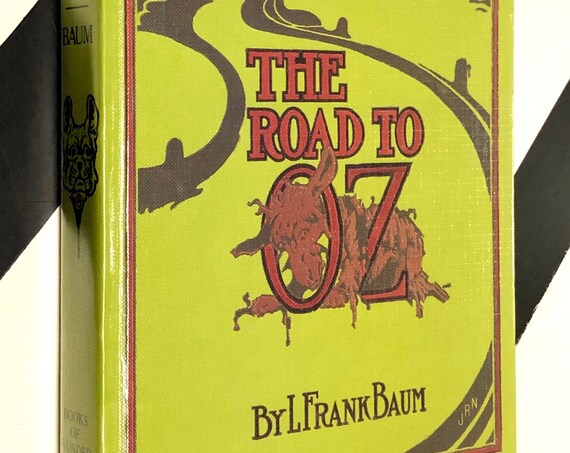 The Road to Oz by L. Frank Baum (1991) hardcover book