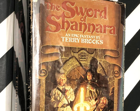 Sword of Shannara by Terry Brooks (1977) hardcover book