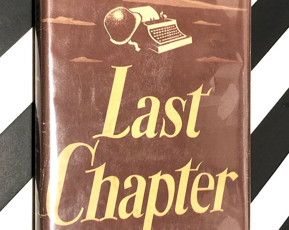 Last Chapter by Ernie Pyle (1946) first edition book