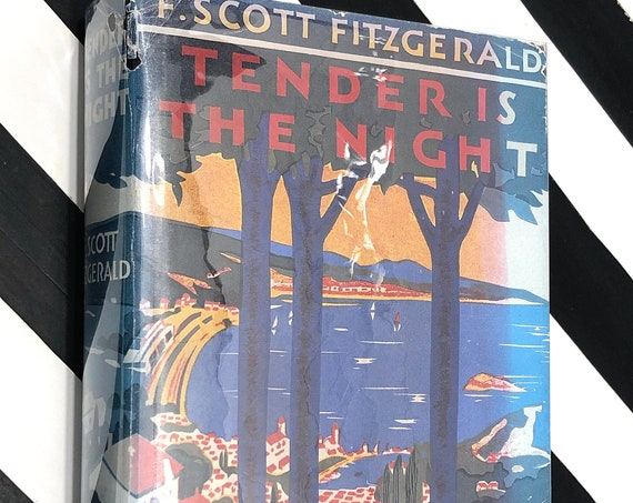 Tender is the Night by F. Scott Fitzgerald (1934) First edition facsimile