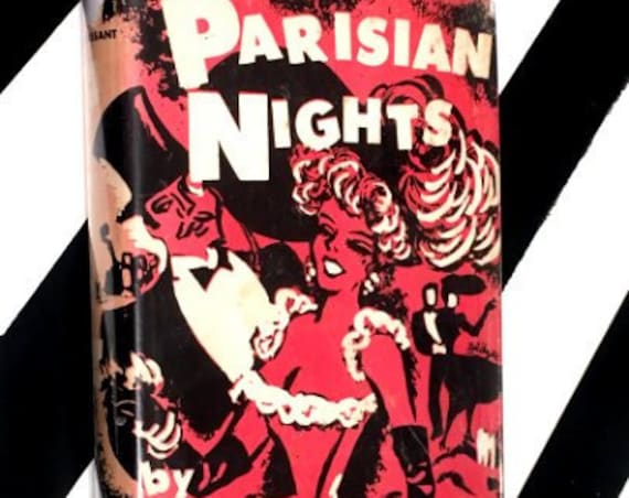 Parisian Nights by Guy de Maupassant (1951) hardcover book