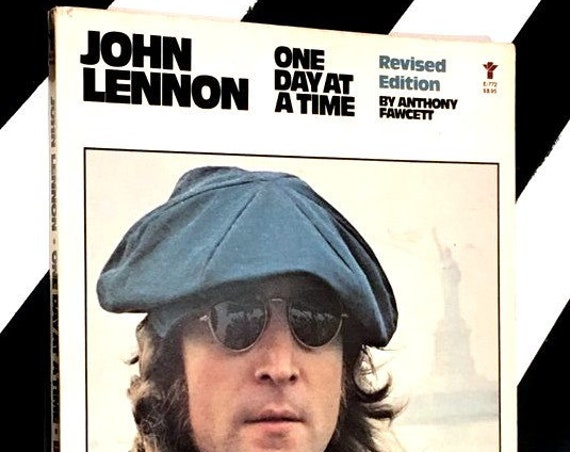 John Lennon: One Day at a Time by Anthony Fawcett (1981) softcover book