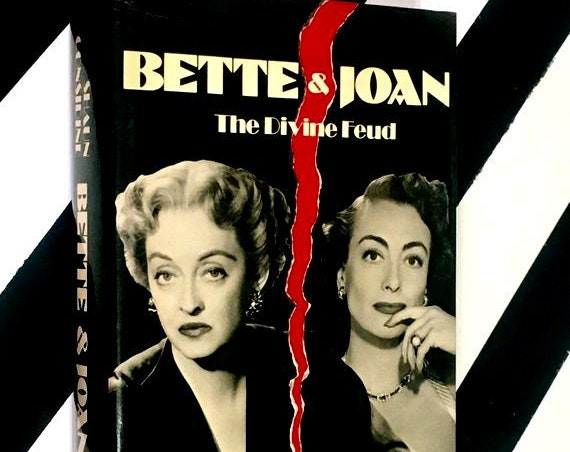 Bette & Joan: The Divine Feud by Shaun Considine (1989) hardcover book
