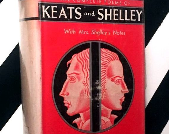 John Keats and Percy Bysshe Shelley Complete Poetical Works (no date) hardcover book