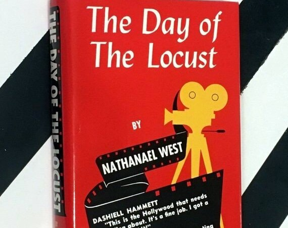 The Day of the Locust by Nathaniel West (1989) hardcover book