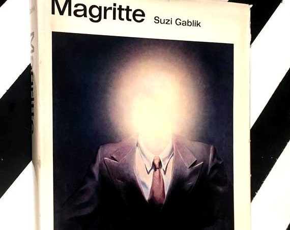 Magritte by Suzi Gablik (1972) hardcover book