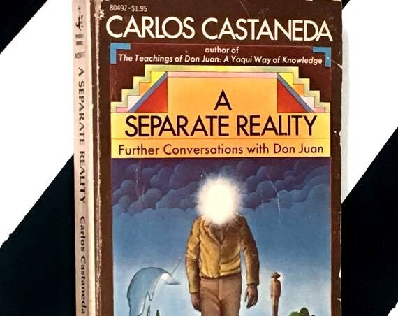 A Separate Reality: Further Conversations with Don Juan by Carlos Castaneda (1976) softcover book