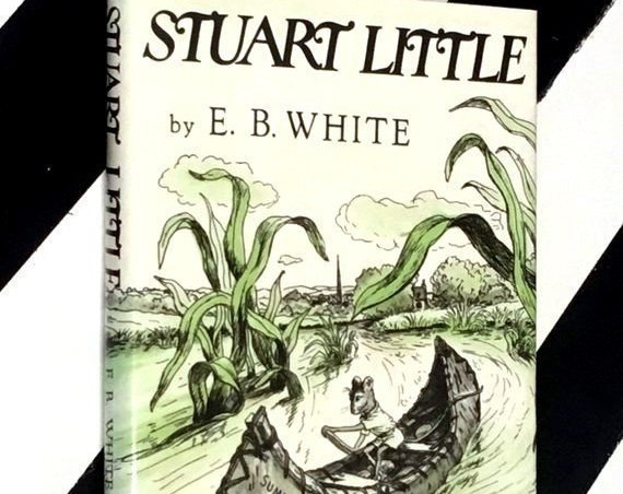Stuart Little by E. B. White, Pictures by Garth Williams (1973) hardcover book