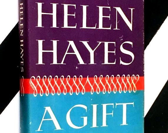 A Gift of Joy by Helen Hayes with Lewis Funke (1965) hardcover book