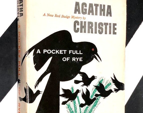 A Pocket Full of Rye by Agatha Christie (1953) hardcover book