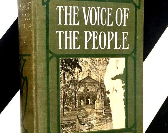 The Voice of the People by Ellen Glasgow (1900) hardcover book
