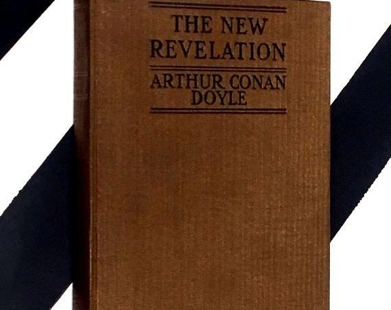 The New Revelation by Arthur Conan Doyle (1918) hardcover book