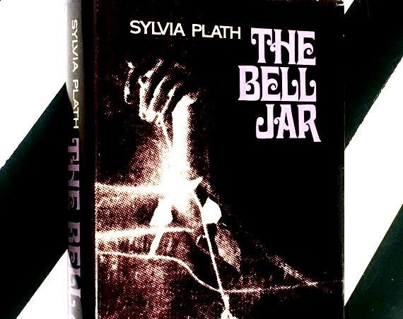 The Bell Jar by Sylvia Plath (1971) hardcover book