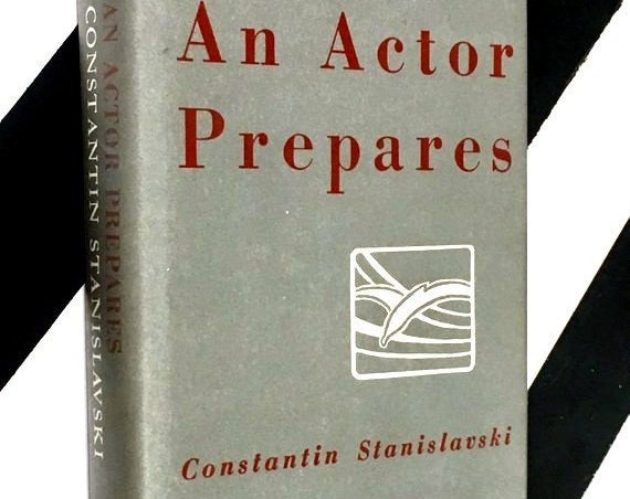 An Actor Prepares by Constantin Stanislavski (1983) hardcover book