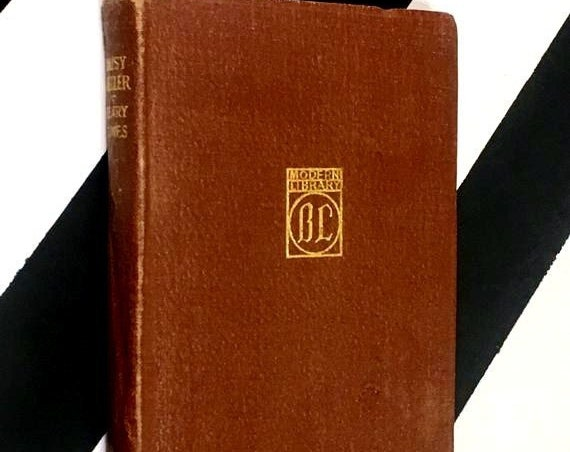 Daisy Miller: An International Episode by Henry James (no date) leatherette binding