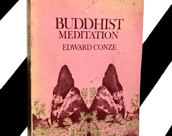 Buddhist Meditation by Edward Conze (1956) softcover book