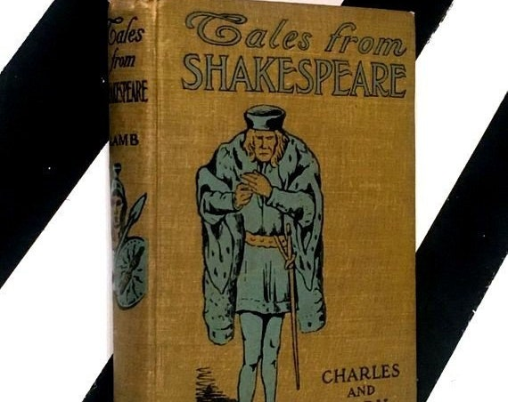 Tales from Shakespeare by Charles and Mary Lamb (no date) hardcover book