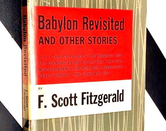 Babylon Revisited and Other Stories by F. Scott Fitzgerald (1968) softcover book