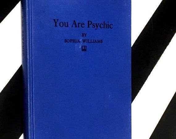 You Are Psychic by Sophia Williams (1946) hardcover book