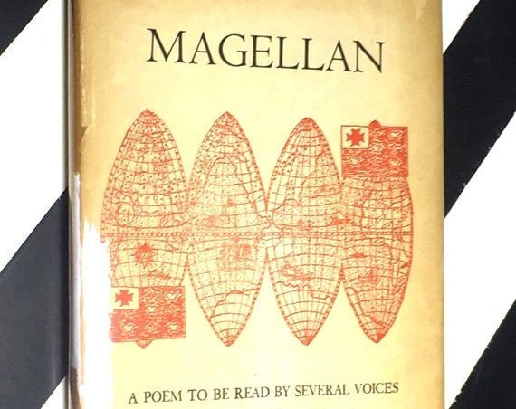 Magellan: A Poem to be Read by Several Voices by Ann Stanford (1958) hardcover signed book