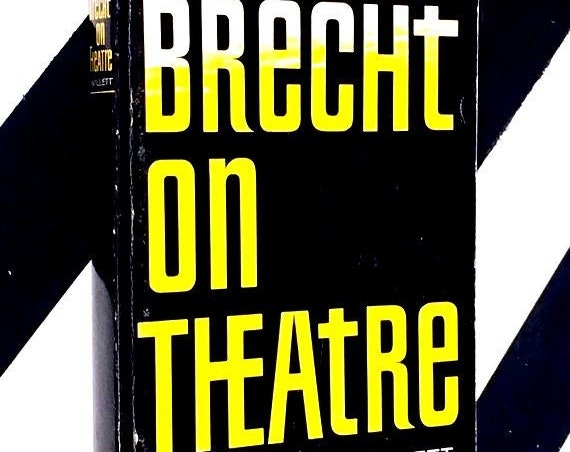 Brecht on Theater  translated by John Willet (1964) softcover book