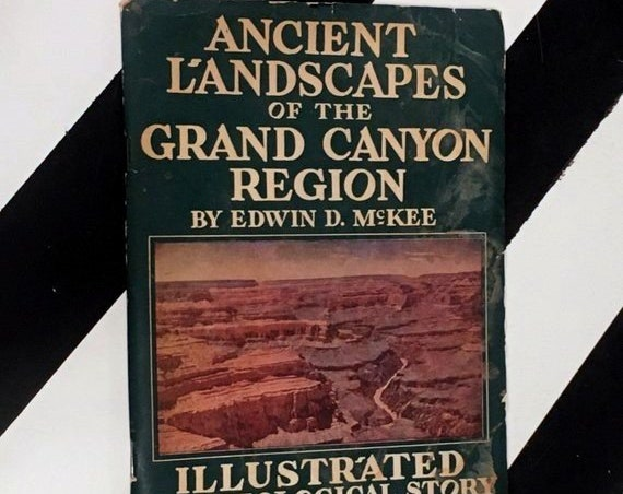 Ancient Landscapes of the Grand Canyon Region by Edwin McKee (1955) softcover pamphlet