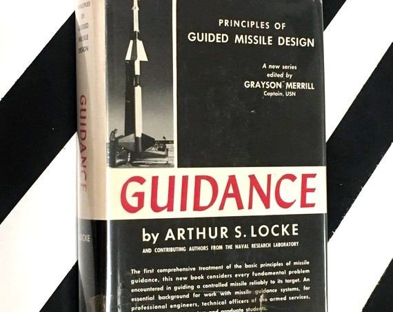 Guidance by Arthur S. Locke edited by Grayson Merrill (1956) hardcover book
