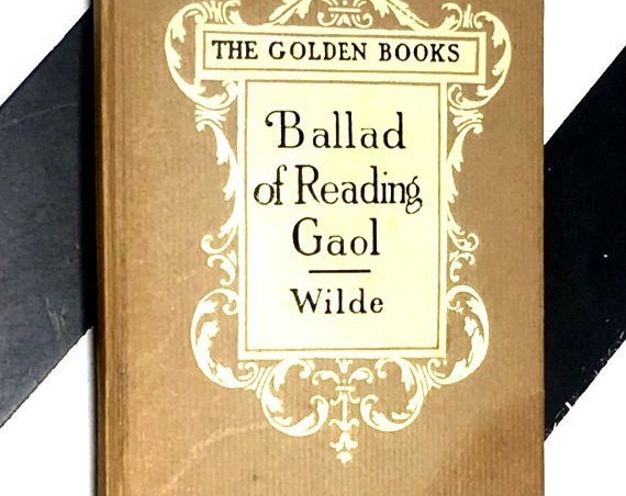 The Ballad of Reading Goal by Oscar Wilde (undated) hardcover book