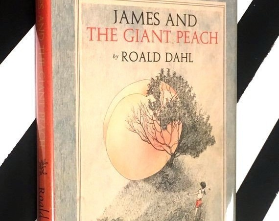 James and the Giant Peach by Roald Dahl (1961) hardcover book