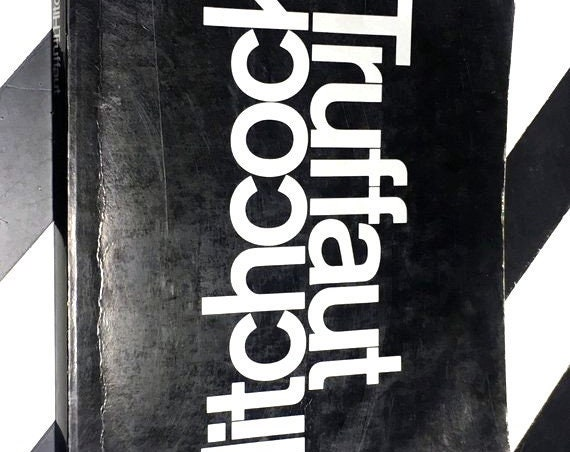 Hitchcock: A Definitive Study by François Truffaut with the Collaboration of Helen G. Scott (1967) softcover book