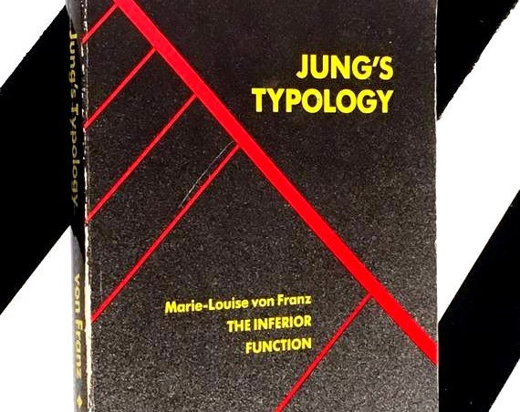 Lectures on Jung's Typology by Marie-Louise von Franz and James Hillman (1971) softcover book