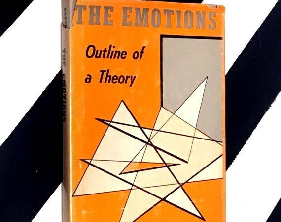 The Emotions: An Outline of a Theory by Jean-Paul Sartre (1948) hardcover book