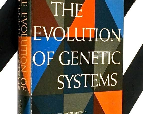 The Evolution of Genetic Systems by C. D. Darlington (1958) hardcover book