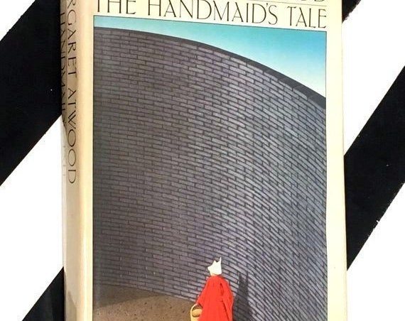 The Handmaid's Tale by Margaret Atwood (1986) hardcover first American edition book